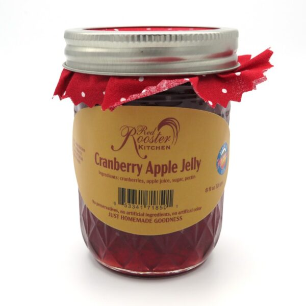 Cranberry Apple Jelly - Front