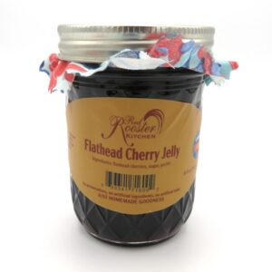Flathead Cherry Jelly - Front