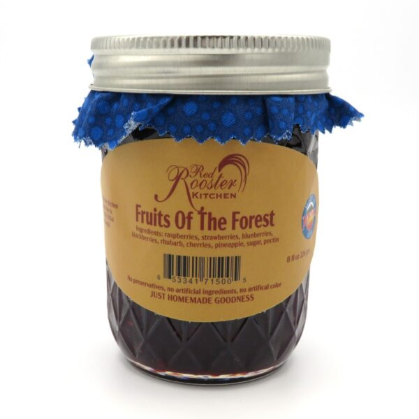 Fruits of the Forest Jam - Front