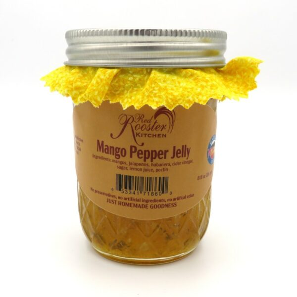 Mango Pepper Jelly - Front