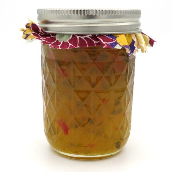 Powder Keg Pineapple Jam - Rear