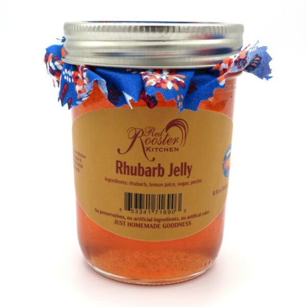 Rhubarb Jelly - Front