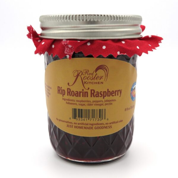 Rip Roarin Raspberry Jelly - Front