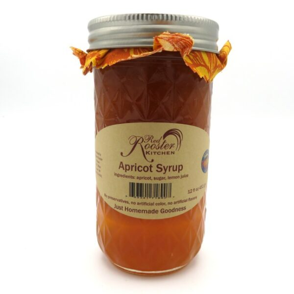 Apricot Syrup - Front