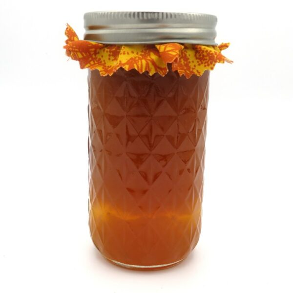 Apricot Syrup - Rear
